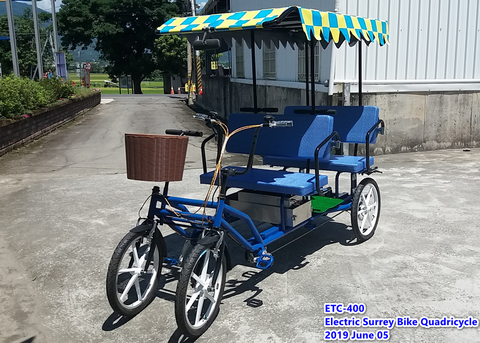 Electric Quadricycle for 4 people