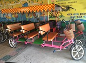 Electric rickshaw for 6 people