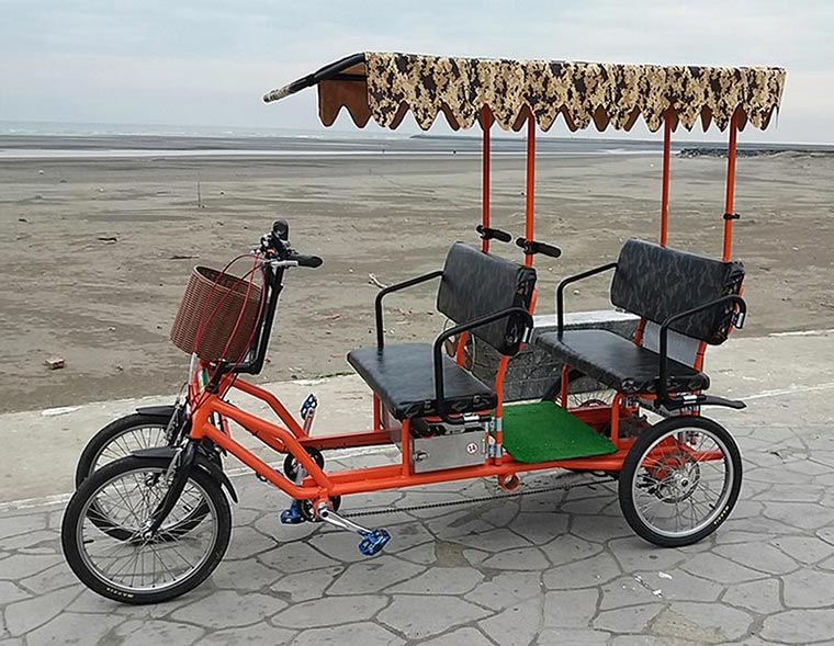 Four person Electric Quadricycle