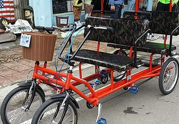 Rickshaw for 4 people